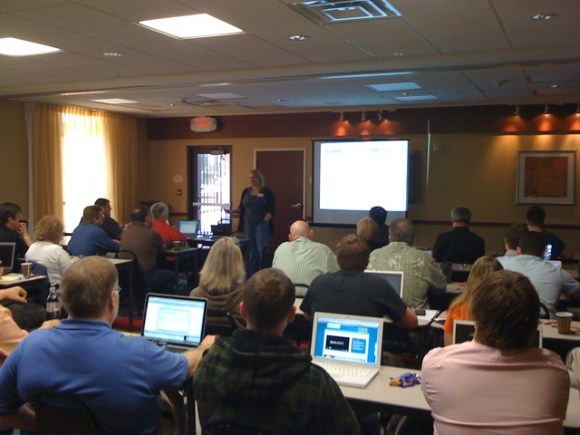 I had the opportunity to share experiences with the iThemes community in Oklahoma City in March, 2010