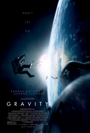 """Gravity Poster"" by May be found at the following website: IMP Awards. Licensed under Fair use of copyrighted material in the context of Gravity (film) via Wikipedia - http://en.wikipedia.org/wiki/File:Gravity_Poster.jpg#mediaviewer/File:Gravity_Poster.jpg"