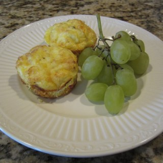 What's for Breakfast? Mini Ham and Cheese Frittatas