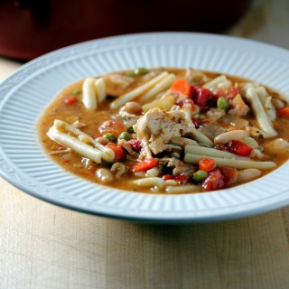 Chicken Noodle Soup with an Italian Twist