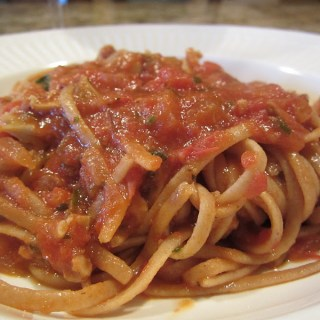 A Great Boating Trip and Linguine with Red Clam Sauce