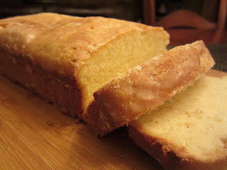 Lemon Glazed Lemon Pound Cake