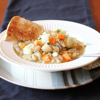 Part III Budget Meals:  Garbure (French Ham and Vegetable Stew)