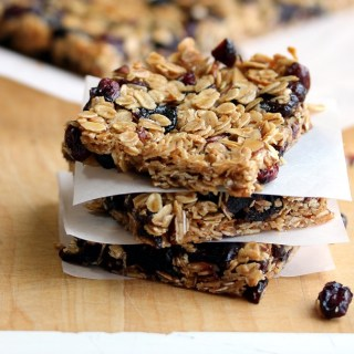 Mixed Berry Granola Bars