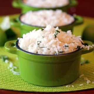 Copycat Recipe: Chipotle Cilantro Lime Rice