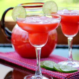 The Perfect Strawberry Margarita (Cocktail or Mocktail)
