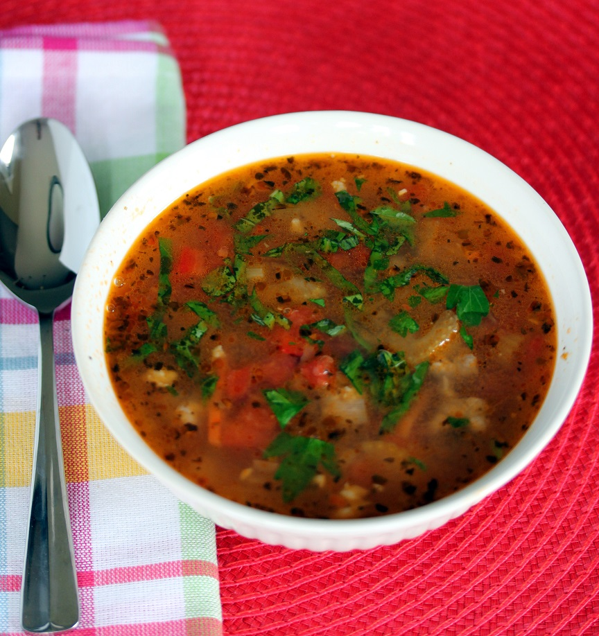 Cannellini Bean and Sausage Soup - Lisa's Dinnertime Dish ...