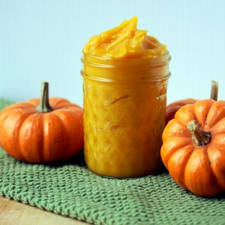 Fresh Pumpkin Puree and Pepitas