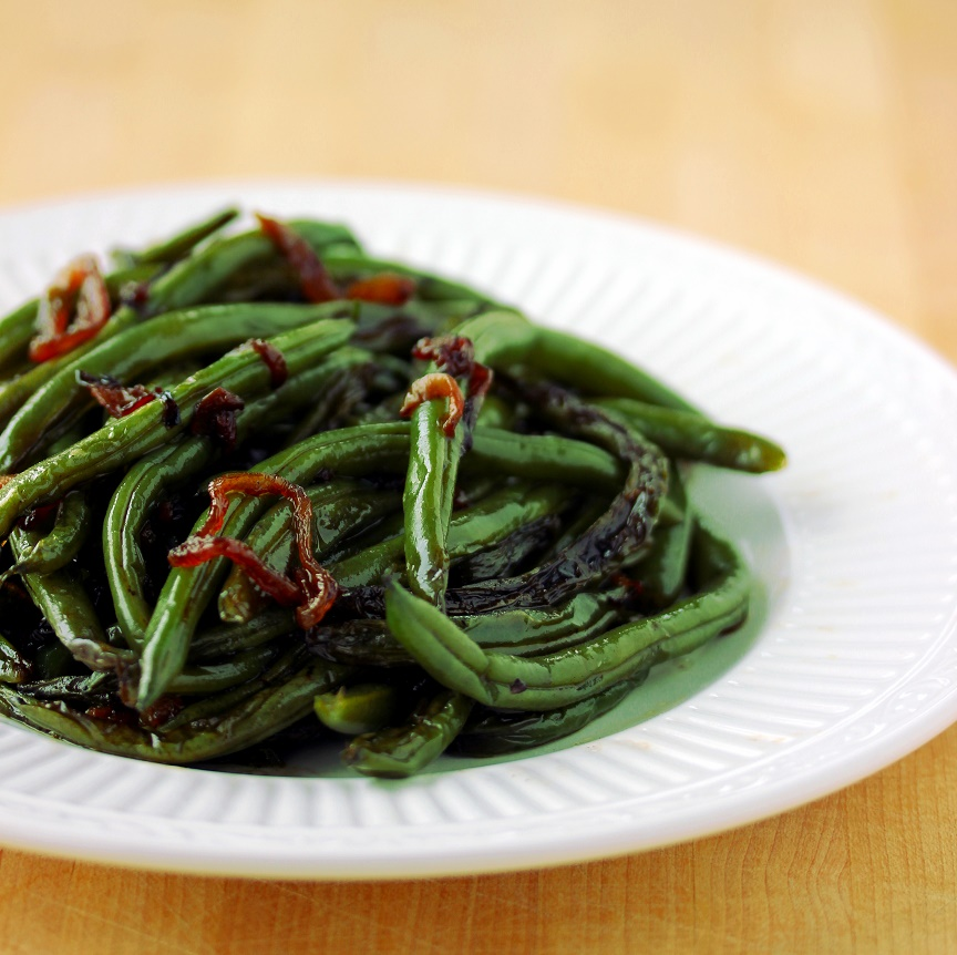 Green Beans with Crispy Shallots - Lisa's Dinnertime Dish for Great ...