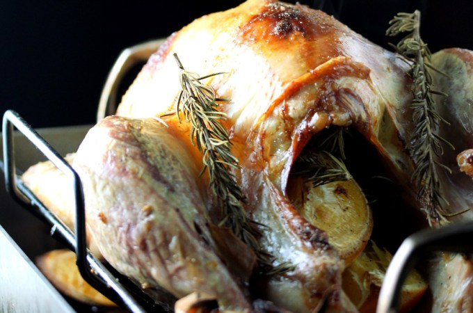 Lisa's Dinnertime Dish:  Rosemary Orange Roasted Turkey