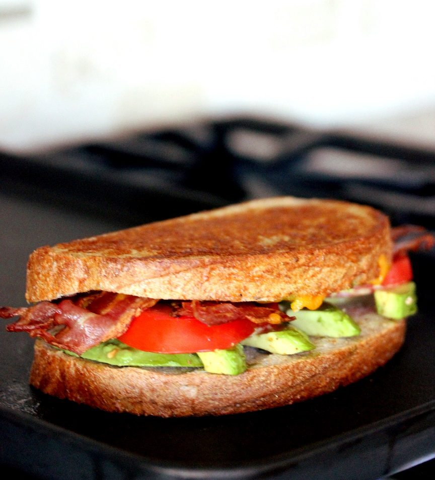 Grilled Bacon Tomato and Avocado (BTA) Sandwich - Lisa's ...