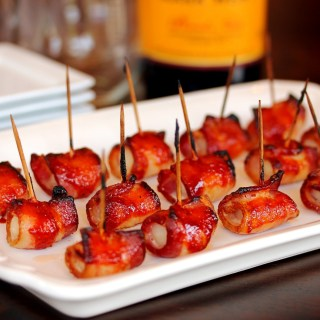 BBQ Bacon Water Chestnuts