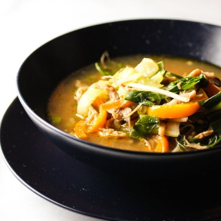 Asian Chicken Vegetable Soup