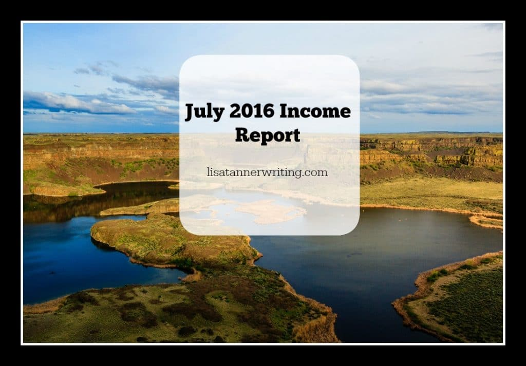 July 2016 Income Report from Freelancing