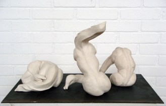 """Community"", december 2011, january 2012, unglazed stoneware."