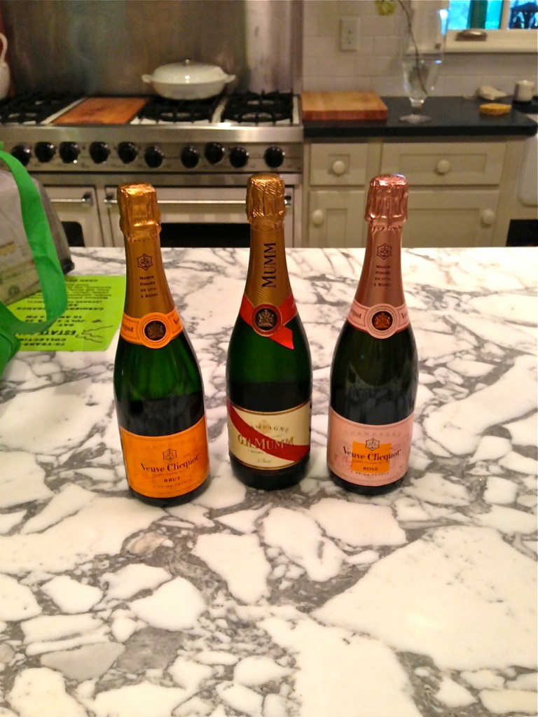 Then, there was the addition of a little bubbly ...