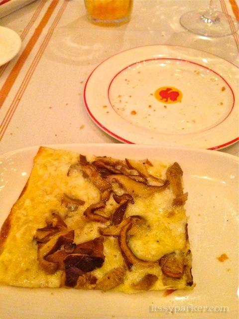 Gruyere and Mushroom appetizer