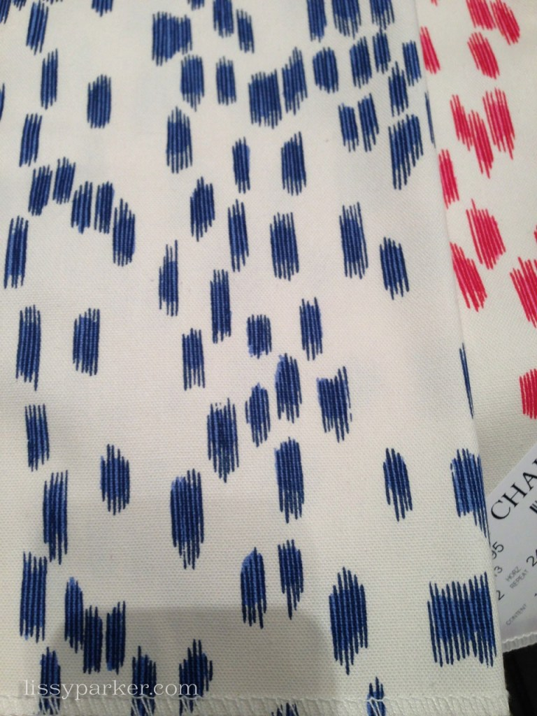 Considered this fabric—for a New York minute