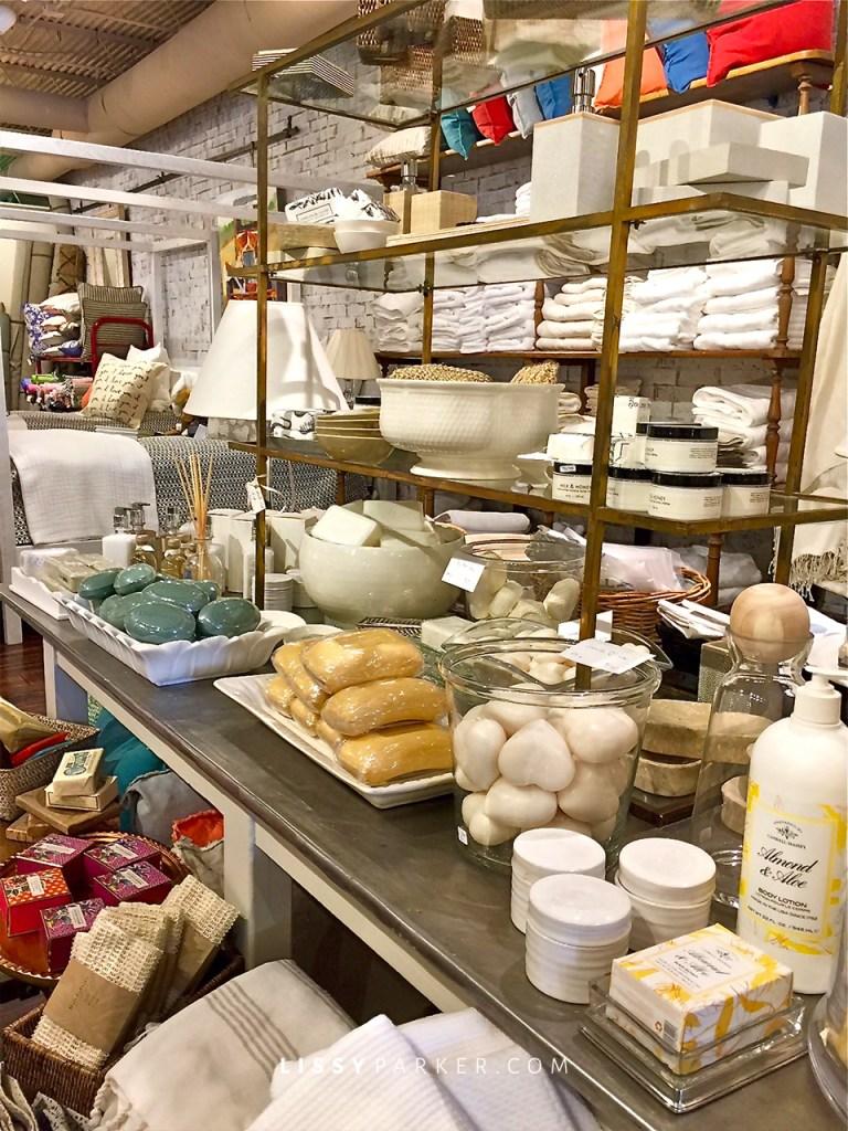 Soaps, bath salts and bubble bath—Ahhh