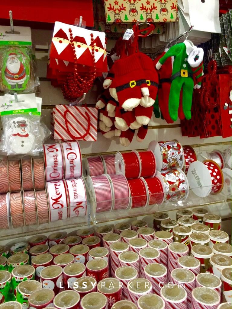 gift ribbon and tags