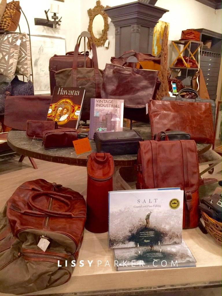 leather luggage