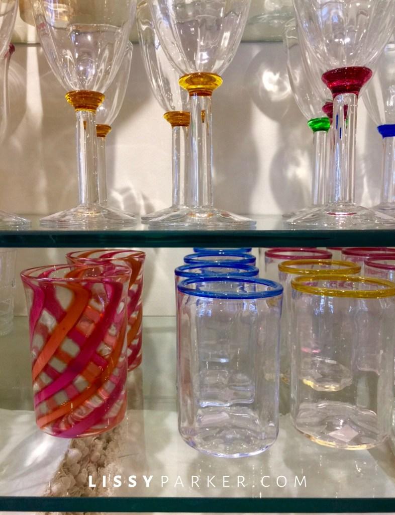 Scottish colored glasses