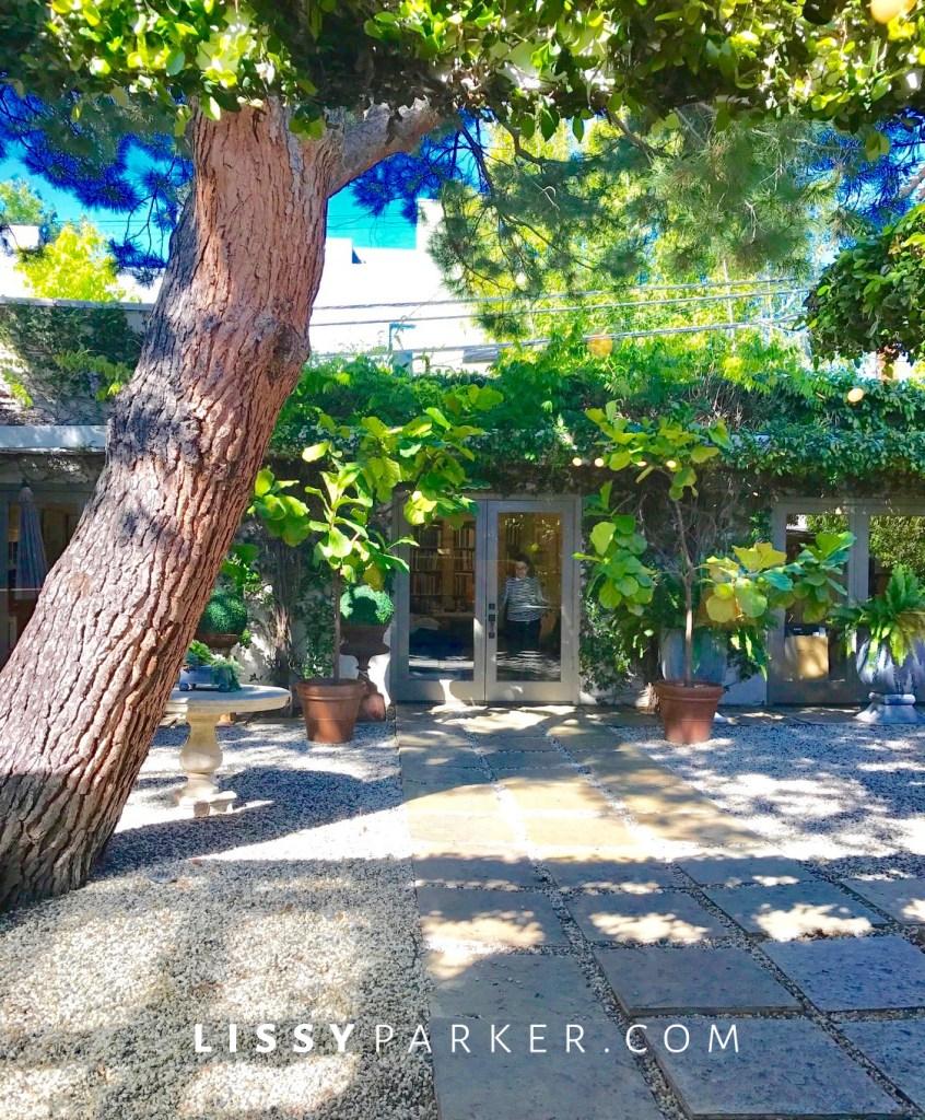 patio in LA