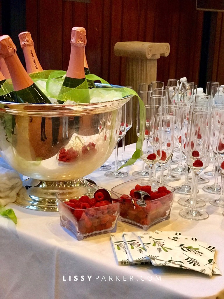 champagne luncheon