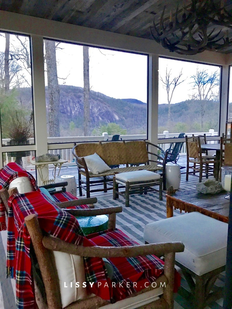 How to enjoy the Winter porch