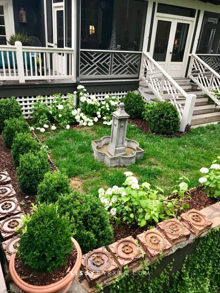 new upper garden