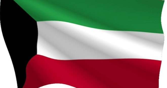 kuwait national flag