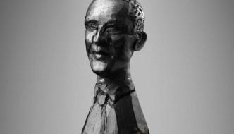 barack obama pencil carving