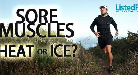 heat or ice for sore muscles