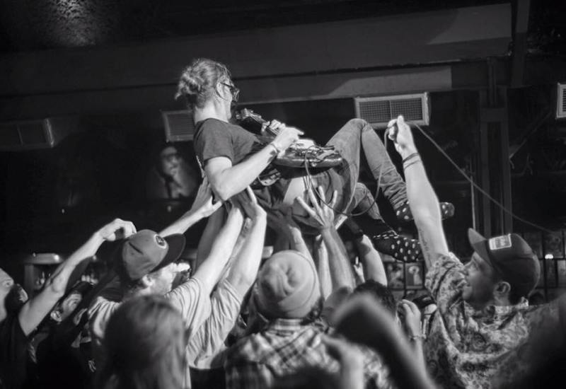 Max Crowd Surfing Belly Up