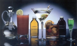 Beverage Alcohol Collage