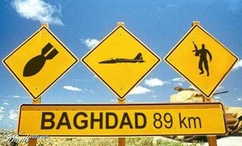 Iraq Roadsigns