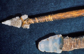 Mesa Verde Spear And Knife