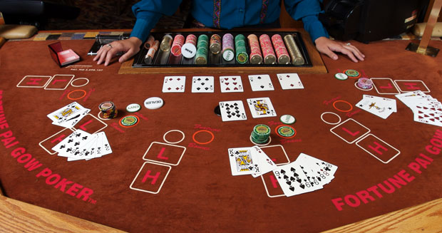 a list casino games