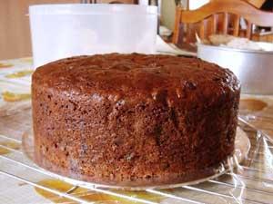 Baked-Fruitcake