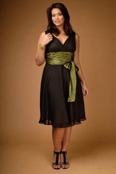 plus size dress young 7 thornton