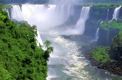Argentina - Iguazu Falls - Tight From Above-1