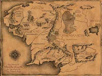Midearthmap