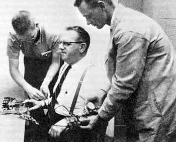 "stanley milgram's ""the perils of obedience Milgram, stanley, the perils of obedience , harper's, 247:1483 (1973:dec) p62."