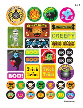 Spooky Stickers Oct27