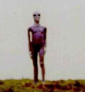 Alien On Hill.Jpg