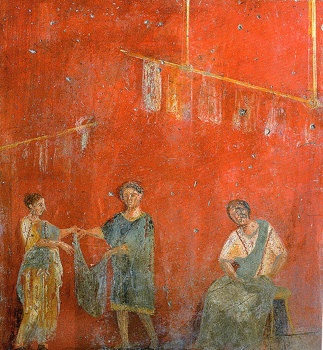 554Px-Pompeii - Fullonica Of Veranius Hypsaeus 2 - Man