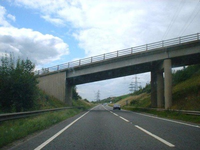 Scary Stocksbridge Bypass Bridge