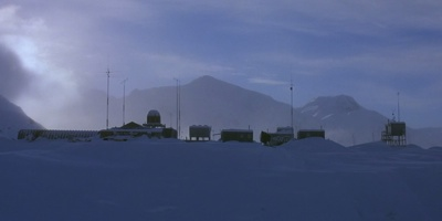 The Thing Antarctic Base