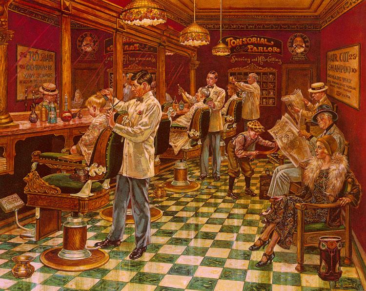 Barber Paradox : The barber?s Paradox