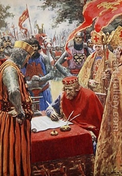 King-John-Signing-The-Magna-Carta-Reluctantly
